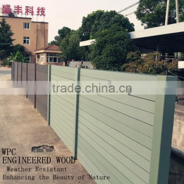 wpc fence screen for decorative garden fencing better than wood fence vinyl fence aluminum fence