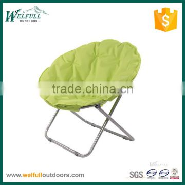 Steel Frame Folding Portable Garden or Indoor Moon Chair