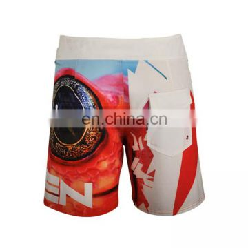 Lightweight Stretch fabric board shorts Mens Surf 4 Way Stretch Board Shorts fabric