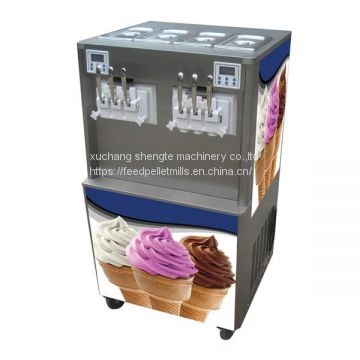 multi flavor swirl ice cream machine | ice cream stick bar machine