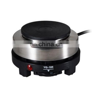 RY-Yq-105 Convenient Wholesale 500W Mini Coffee Stove Mocha Pot Furnace Domestic Electric Heating Tea/Coffee/Soup