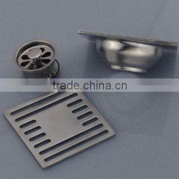 NEW TYPE Stainless Steel Floor Drain.single use , satin finished, brushed                                                                         Quality Choice