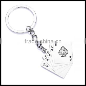 Low Moq Metal Football Keychain With Key Ring manufacturer