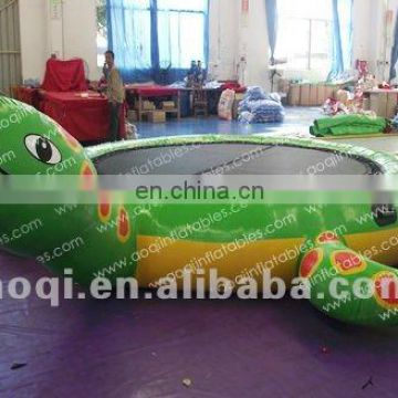 Most polular inflatable turtle trampoline/giant inflatable sports games