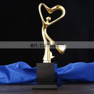 unique beautiful gold dance trophy awards trophy