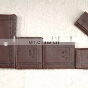 Promotional Leather wallet gift set
