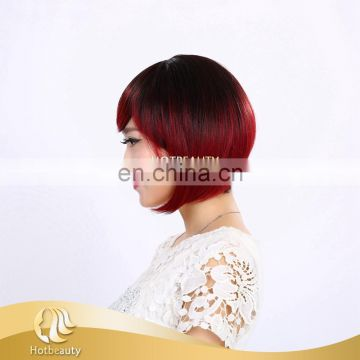 Factory direct price wholesale omber color high-temperature synthetic wig