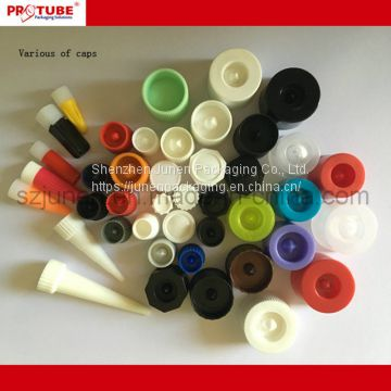 Aluminum Collapsible Hair Color Cream Packaging Tube