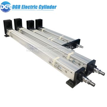 0-1000mm/s High Speed Running Low Noise Servo Precision Electric Linear Actuator for 6DOF Motion Platform