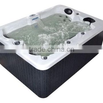 L511 Outdoor spa tube Massage Spa Bathtub with spa pump for 3 adults