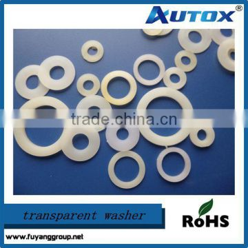 Various Nylon Gasket Clear Rubber Washer for sale