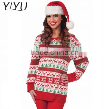 Hot Sale Ugly Acrylic Unisex Christmas Pullover Sweater With