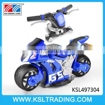 Good design 1:8 scale remote control car motorcycle toys