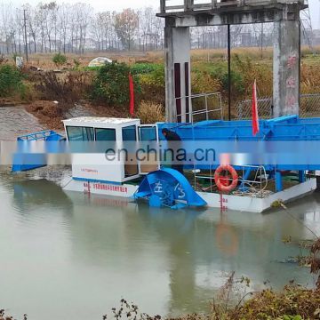 RIver Cleaning Boat Aquatic Weed Cutter Garbage Collecting