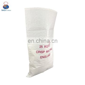 Wholesale agriculture packing 25kg 50kg woven pp sacks