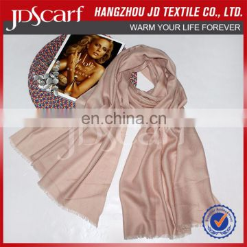 China manufacturer new design fashion brush wool scarf