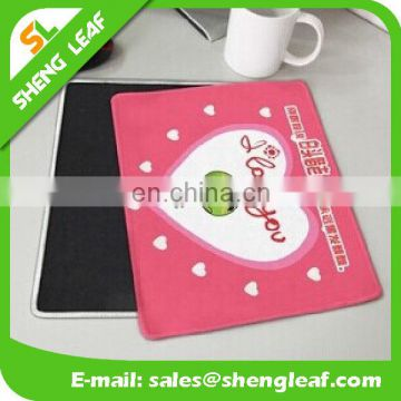 promotional customized sublimation printed natural rubber mouse pad