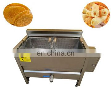 Fish gari frying machine for snacks