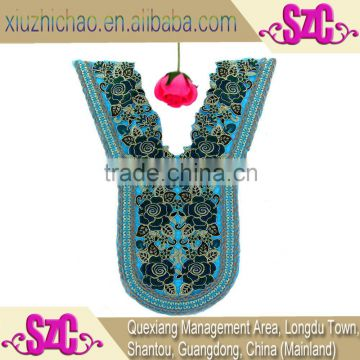 HG0050-2-2(6.9) Original design hot sale popular decorative embroidered lace handmade collar