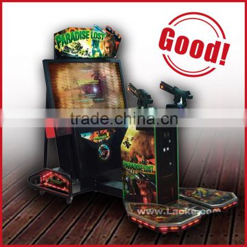 coin operated shooting game machine 52 inch LCD Paradise Lost arcade game machine simulator shooting arcade game machine
