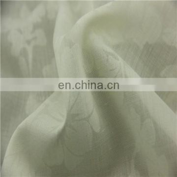fashional floral pattern burnout fabric for curtain