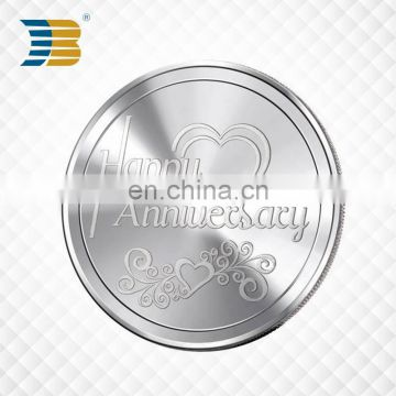 Factory direct sales cheap custom gold souvenir metal coin for sale