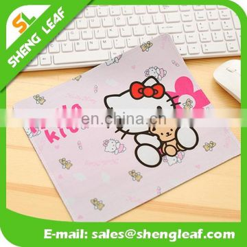 Hello Kitty Custom logo promotion mouse pad