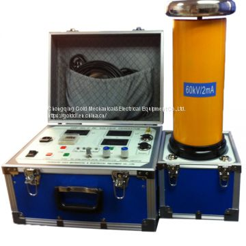 GDF DC high voltage generator for power cable test and arrester test