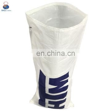Hot sale corn packing 50kg plastic woven bag