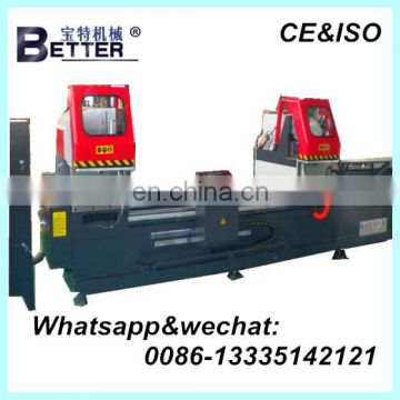 Double-head auto precision Cutting machine for Aluminum Door and Window