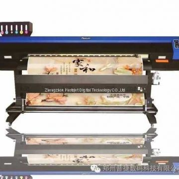 China made Eco solvent printer machine for wall sticker