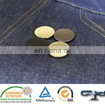 Brass Spring type hand plated snap button for jacket