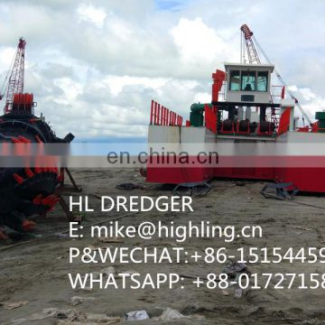 Used 18 Inch Cutter Suction Dredger For River Dredging