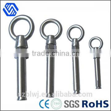 high tension stainless steel bolt M10 expansion anchor bolt