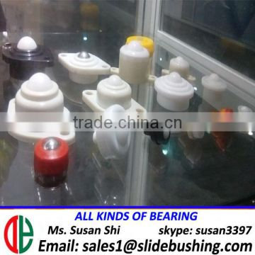 full nylon body and main ball transfer unit 6mm ball heavy loading duty bolt fixing ball transfer roller caster