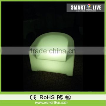 simple led bar furniture bar cube chair / bar stool L-C43A with 200 kgs load bearing