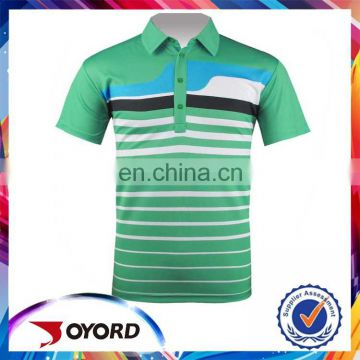 New Style Hot Selling Custom Printed Golf Polo Shirt for Men