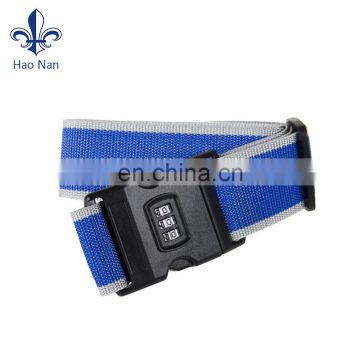 Factory Direct Sale Luggage Straps/Polyester Luggage Belt With Your Logo