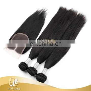 No synthetic hair unprocessed Tangle free peruvian grade hair