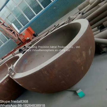 Carbon Steel Welded Pipe Elliptical Dished Seal Head Ends Cap for Pressure Vessel Caps