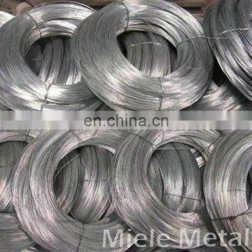 High zinc coating hot dipped galvanized steel wire