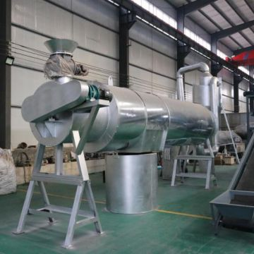 Homemade Sawdust Dryer Frequency Vacuum Wood Chips Rotary Dryer