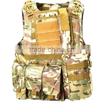 Outdoor combat military tactical assault vest