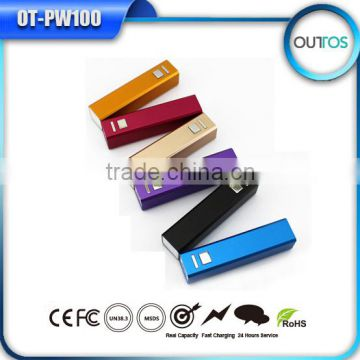 Hot New Products for 2015 Mini Power Bank 2600mah 18650 Battery