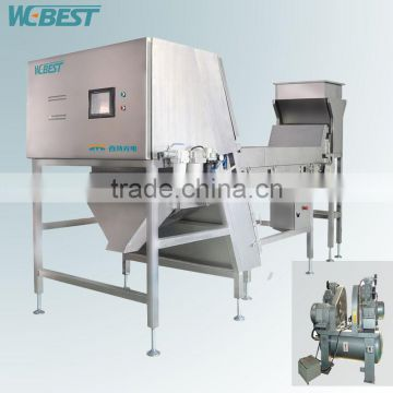 Most Advanced LED Light Source Technology Dehydrated vegetables Color Sorter