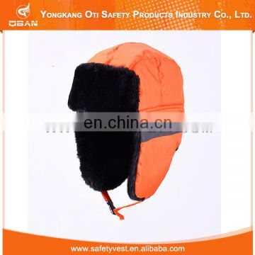 Hot Selling Low Price warm reflective protevtive ushanka hat
