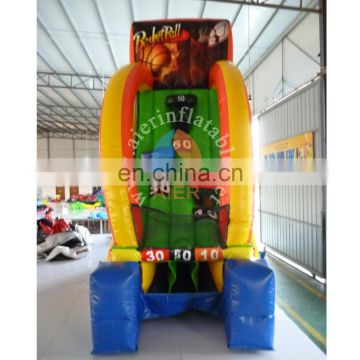 Inflatable indoor shooting games ,SPORTS HOT SHOT 2017 hot inflatable games,sports arena for sale