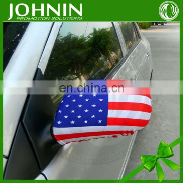 Wholesale Wearing Style Car Side Different Countries Mirror Socks Flag