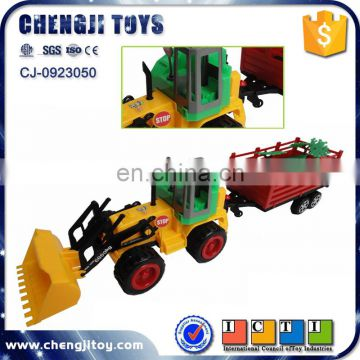 Friction power farm truck tractor toy models
