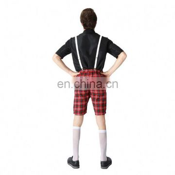 Hot Selling Halloween Party Fancy Men Cosplay Student Uniform